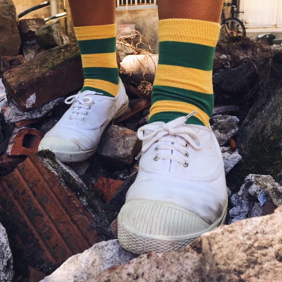 combinar calcetines divertidos