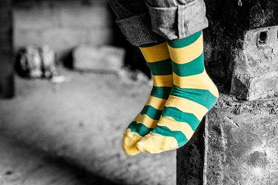 calcetines para el otoño