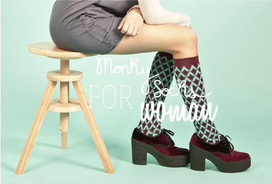 tacones con calcetines