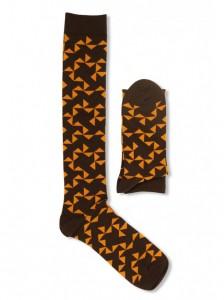 calcetines en otoño