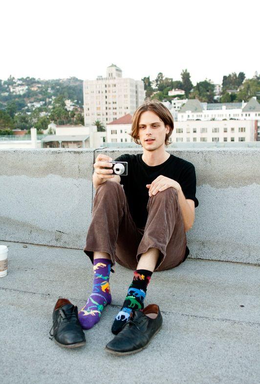 Calcetines Desparejados Matthew Gray Gubler