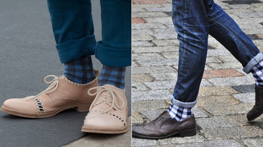 calcetines altos